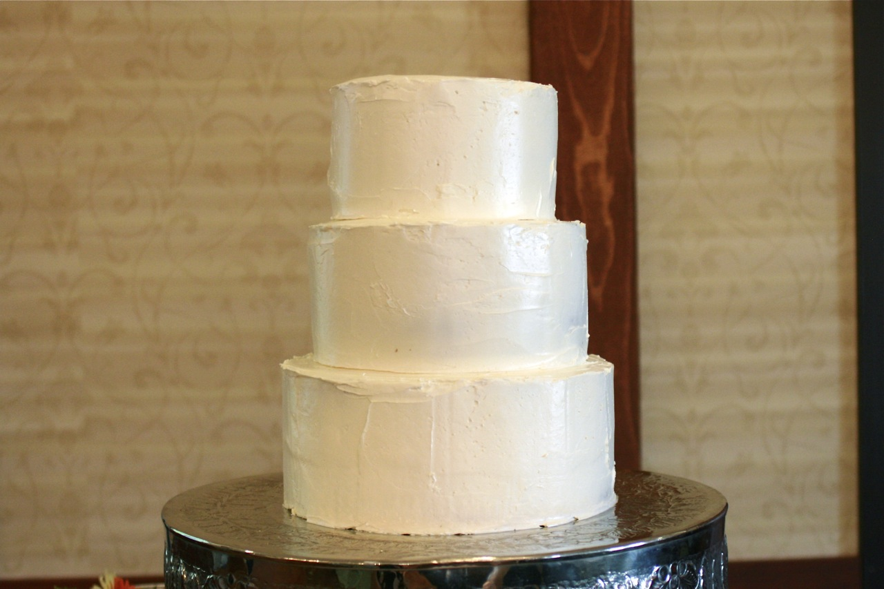 How To Bake A Wedding Cake The Answer Is Always PorkThe Answer - Frosted Wedding Cakes